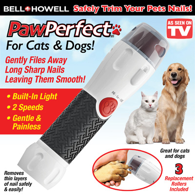Paw Perfect Rotating File Pet Nail Trimmer
