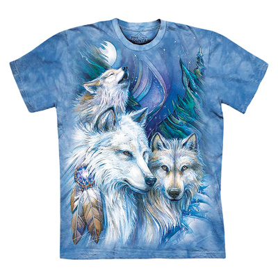 Trio of Majestic Wolves T-Shirt