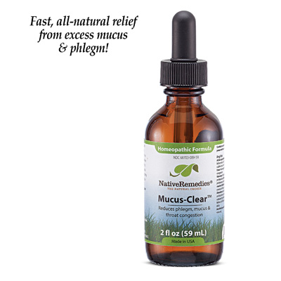 All-Natural Mucus-Clear Decongestant