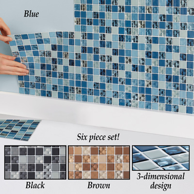 Easy-to-Apply Convex Wall Tiles