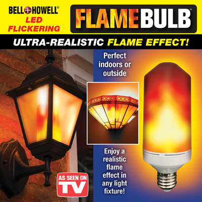 Bell and Howell Flame Bulb
