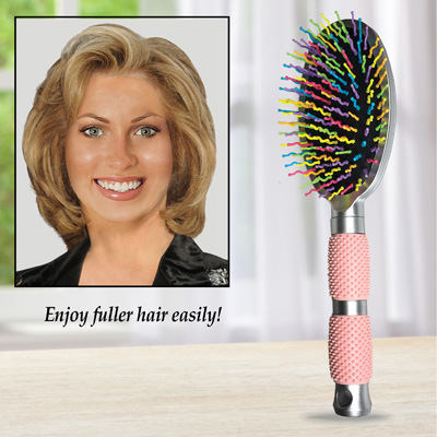Hair Volumizing Brush with Wavy Bristles
