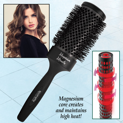 Magnesium Miracle 3 Inch Barrel Round Hair Brush