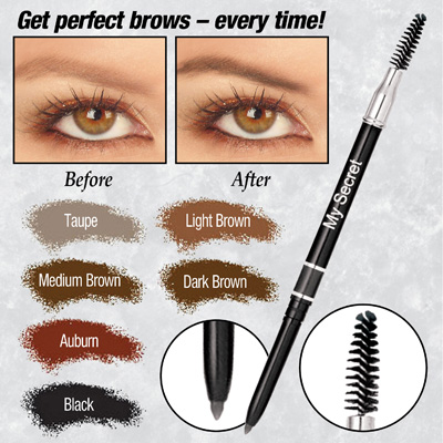 Waterproof My Secret Retractable Eyebrow Pencil