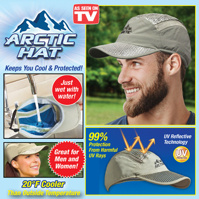Arctic Baseball Cap with Ventilation