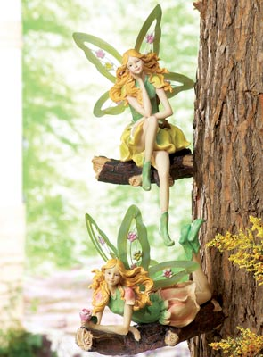 Fairy Garden Figurine Tree Decoration