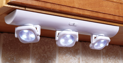 Led White Under Cabinet Swivel Lights From Collections Etc