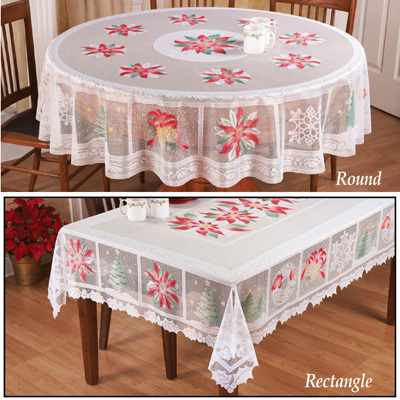Shop eBay for great deals on Lace Christmas & Holiday Tablecloths. You'll find new or used products in Lace Christmas & Holiday Tablecloths on .