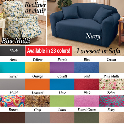 Jersey Knit Stretch Slipcover From Collections Etc