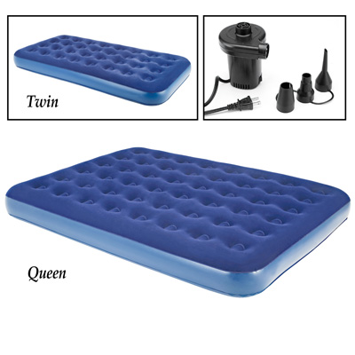 Air Mattress with AC-Powered Pump