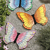 Decorative Butterfly Garden Stone Set