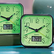 Glow in the Dark Alarm Clocks - 2 pc