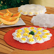 Deviled Egg Serving Tray Carriers
