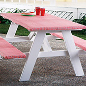 Picnic Table and Bench Covers Set