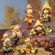 Sweet Harvest Sitters Collectible Figurines Set