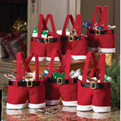 Santa Pants Gift and Treat Bags