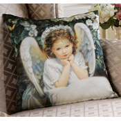 Sandra Kuck Angel Pillow