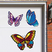 Butterfly Decorative Garage Door Magnets