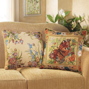Garden Floral Reversible Pillow Covers - Set of 2 - 17682