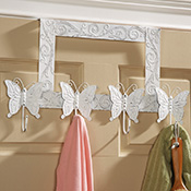 Butterfly Hanging Door Rack