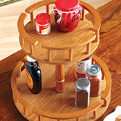 Easy Spin 2 Tiered Lazy Susan - 18393