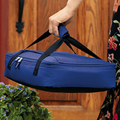 Set of 2 Casserole Totes Carrying Bags