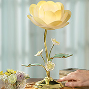 Lotus Flower Table Touch Lamp - 19149