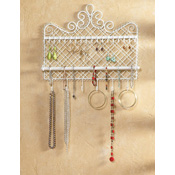 Wall Mounted Jewelry Hanger