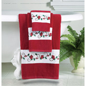 Holiday Printed Bath Towels - Set of 3 - 20313