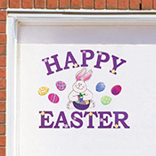 Happy Easter Bunny Garage Door Magnet Set - 20936