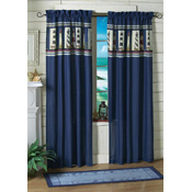 Nautical Lighthouse Curtain Panel Set