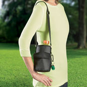 Water Bottle Holder With Shoulder Strap - 22865