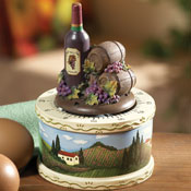 Wine Vineyard Decorative Kitchen Timer