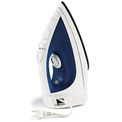 Retractable Cord Adjustable Temperature Steam Iron