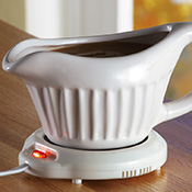 Keep It Warm Electric Gravy Server Boat