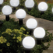 Solar Mini Garden Outdoor Lighting  Globes