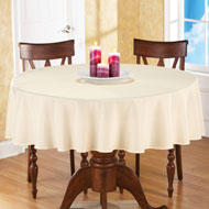 Basic 70 inch Round Tablecloth - 25493