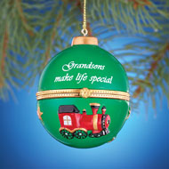 Holiday Sentiment Trinket Ornaments - 26233