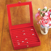 Jewelry Organizer Ring Box - 26283
