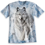 Winter Wolf Short Sleeves T- Shirt - 26451