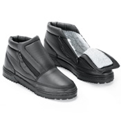 Water Resistant Snow Boots with Ice Grippers - 26652