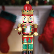 Musical Animated Nutcracker Holiday Decor - 26930
