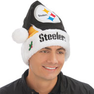 NFL Logo Football Santa Hat - 27049