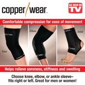 Copper Wear Compression Sleeve - 27199
