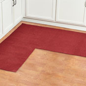 L Shaped Berber Corner Rug Runner - 27253