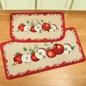 Apple Orchard Cushion Rug Set - 2 pc - 27255