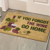 Forgot Wine Coco Door Mat - 27524