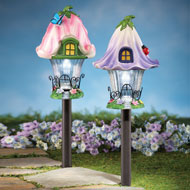 Fairy House Solar Garden Light