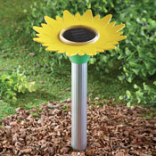 Sunflower Rodent Repeller Solar Garden Stake - 27560