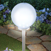 Oversized Globe Solar Garden Light - 28512